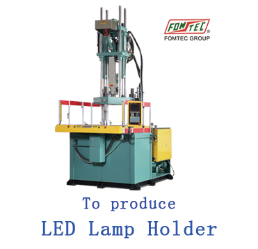 Rotary Table Injection Molding Machine to produce LED Lamp H
